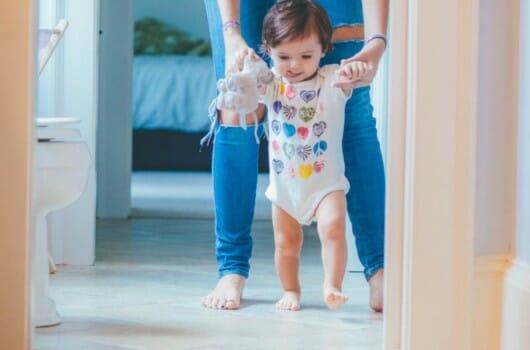 au pair walking host baby