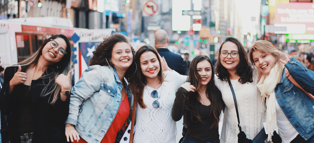 au pairs in time square