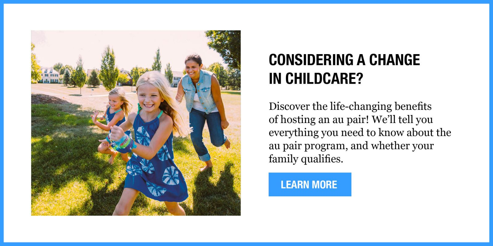 Considering a change in childcare?