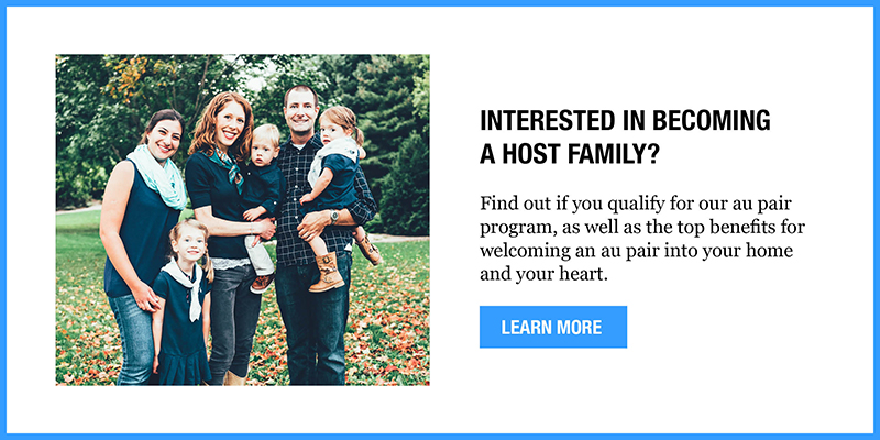 Interested in becoming a host family?